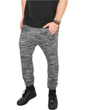 Fitted Terry Melange Sweatpants TB840 blk/gry Black