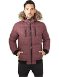 Melange Expedition Bubble Jacket TB894 red melange Red