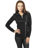 Ladies Biker Sweat Jacket TB941 black Black