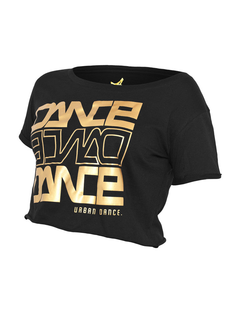 Short Dance UD001 blk/gold Black