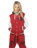 College Dance UD011 red/wht/blk Red