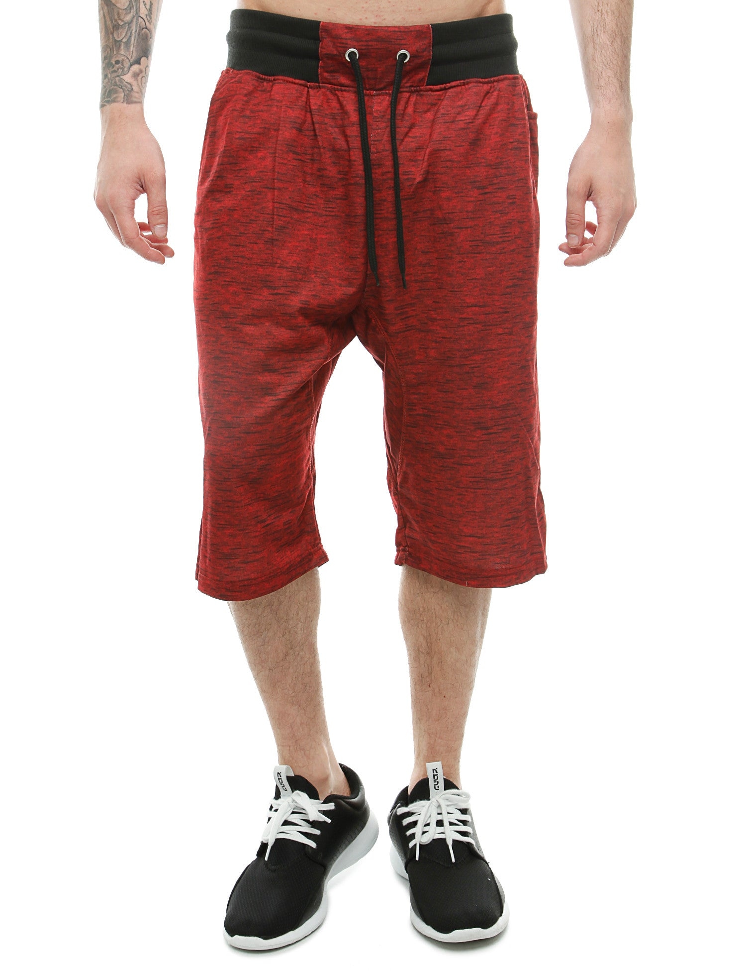 Akademiks JUMPSHOT Shorts A16SH22 Red