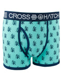 Crosshatch Lionpride Boxers CH2T106621 Green