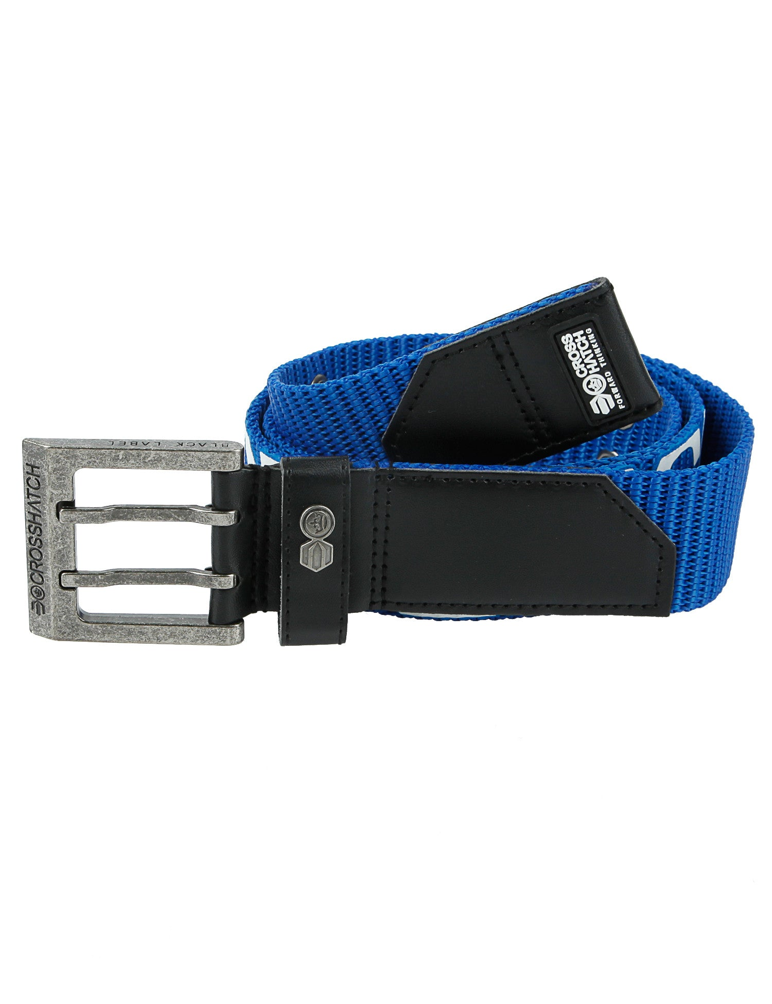 Crosshatch Bevel Belt CH2L109098AA2TTB Blue