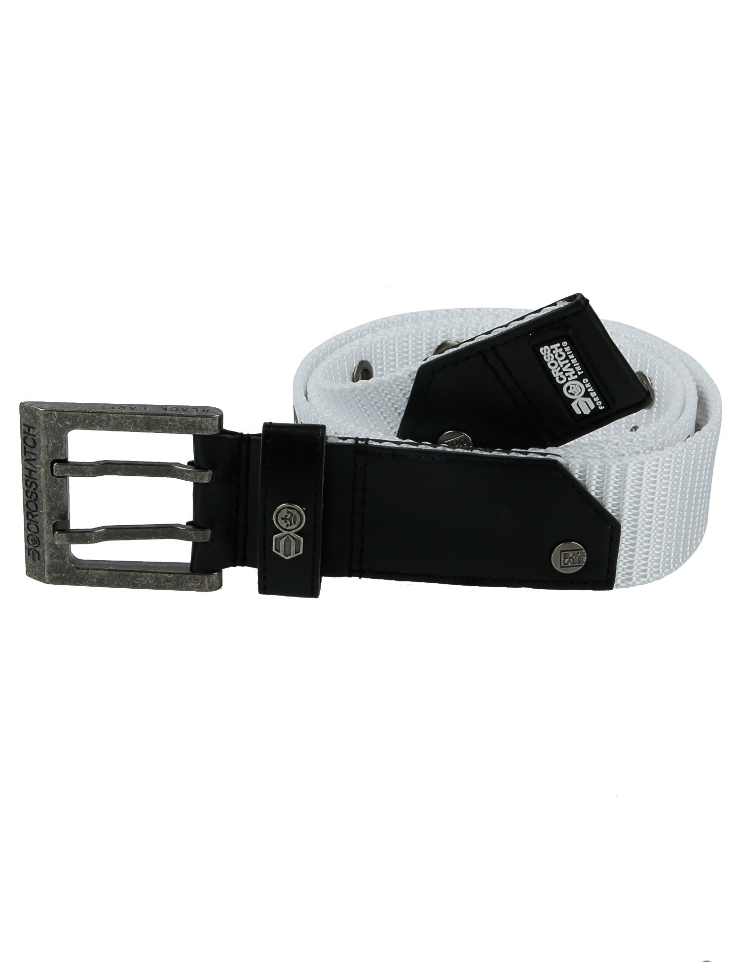 Crosshatch Calibros Belt CH2L109100AA2TTB White