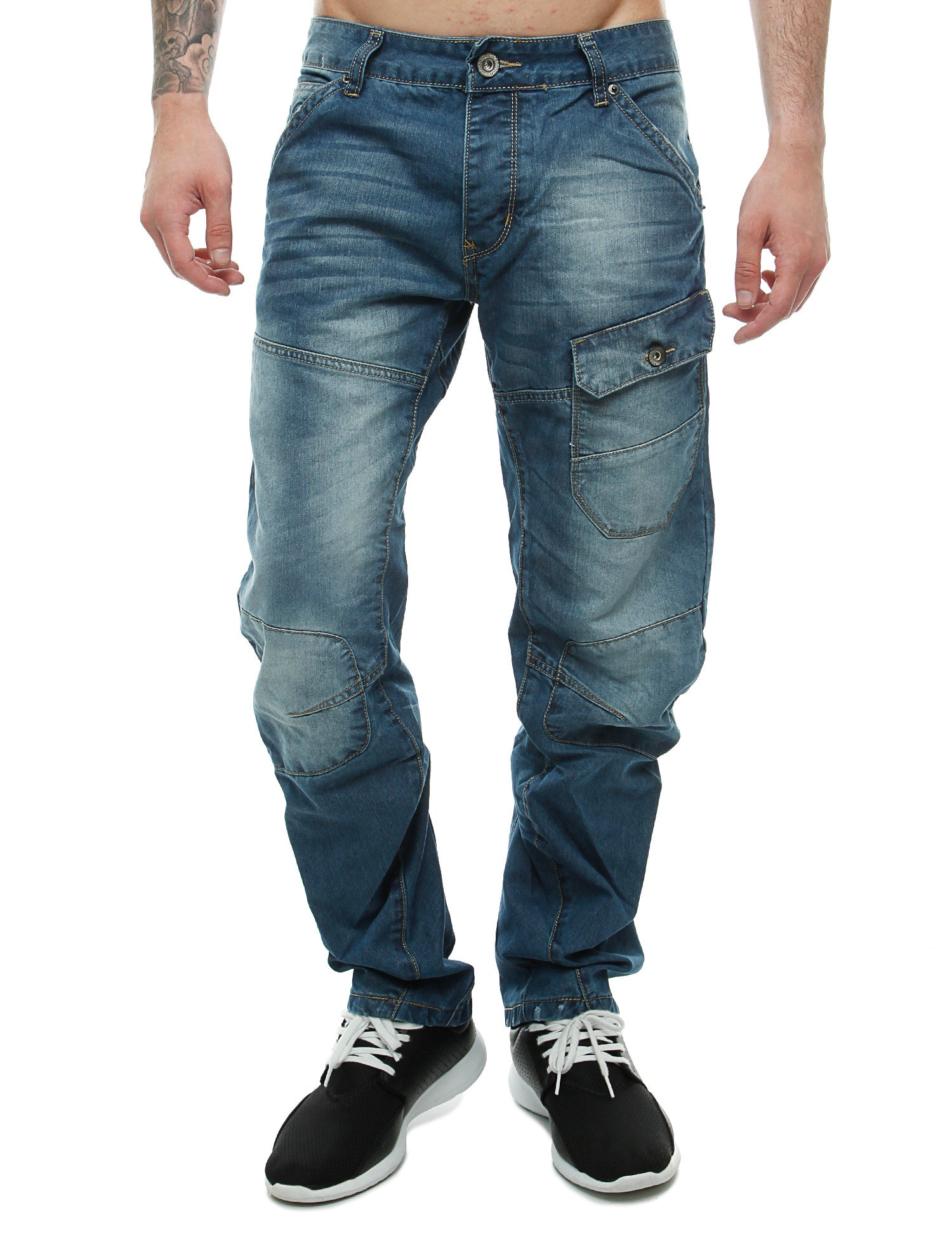 Crosshatch New Vierra Jeans CH108290 Blue