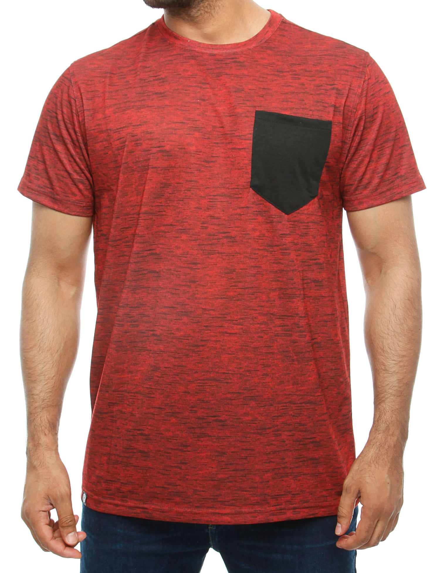 Akademiks BLUEZ T-Shirt A16TE29 Red
