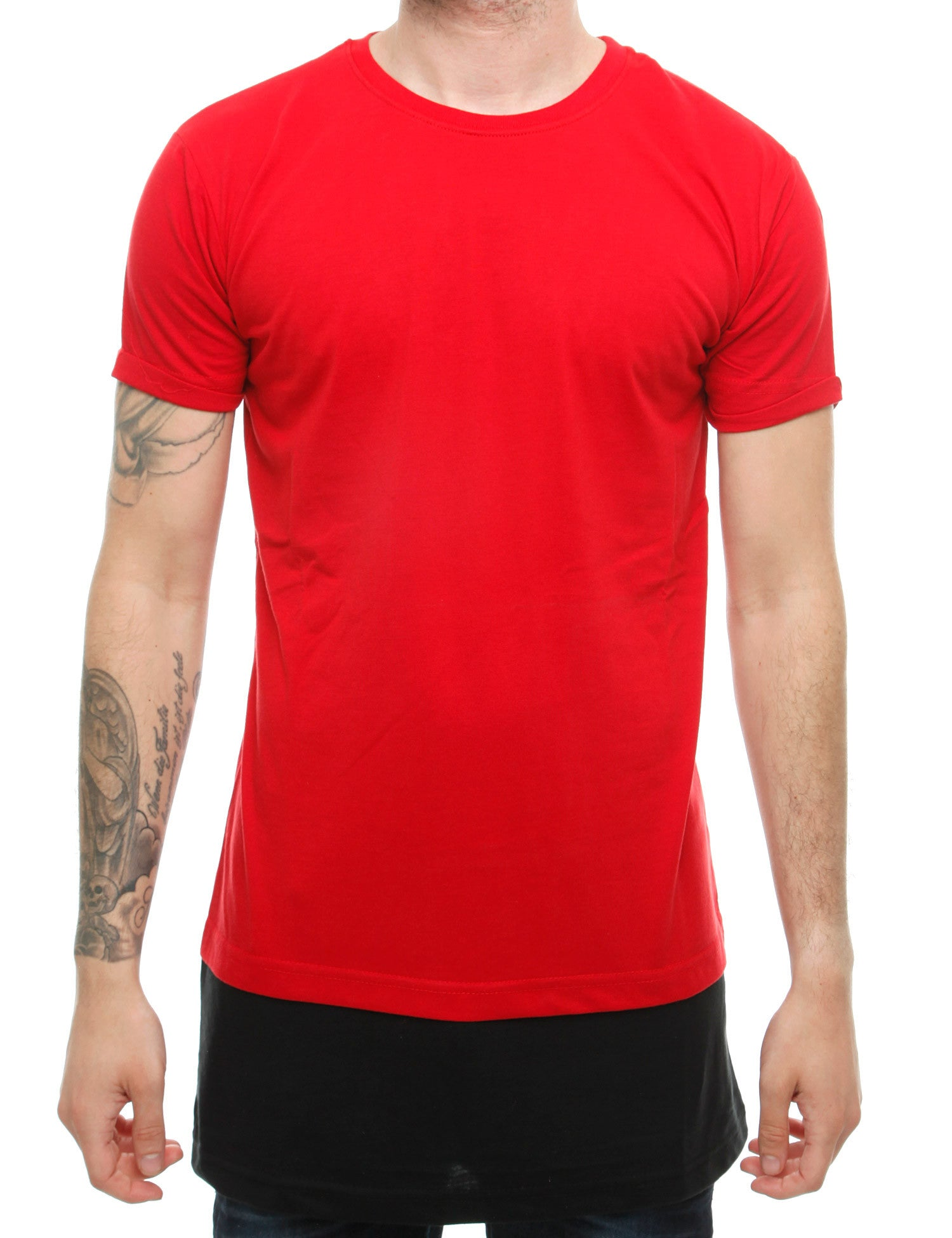 Townz Long Contract Tee TNZ16-014 Red