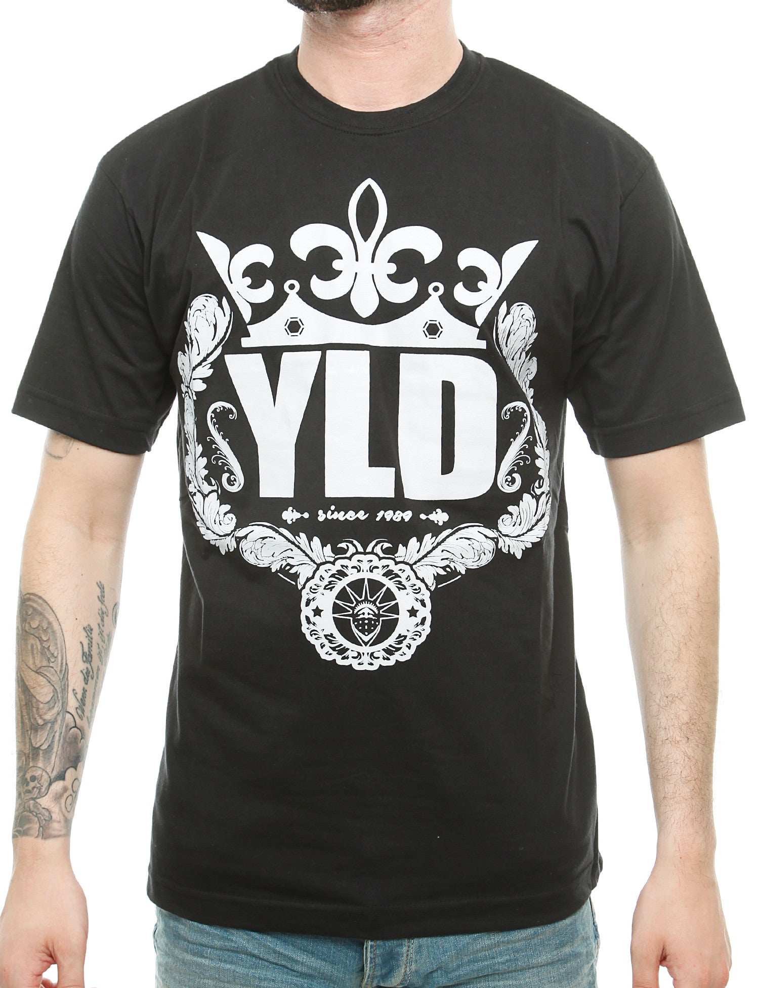 YLD  Spray Crown T-Shirt YLD16-002 Black