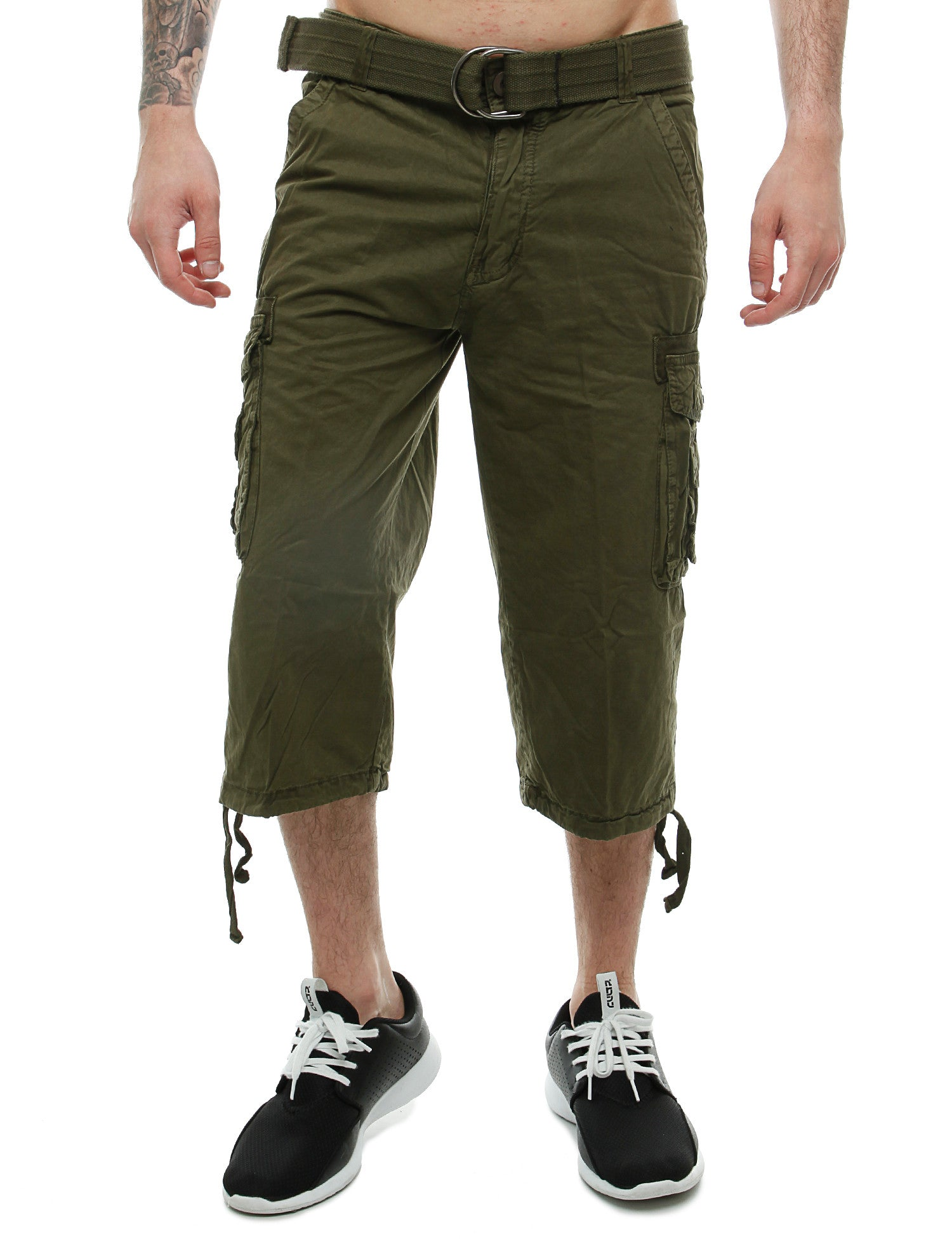 Korex Shorts CBC731 Olive Green