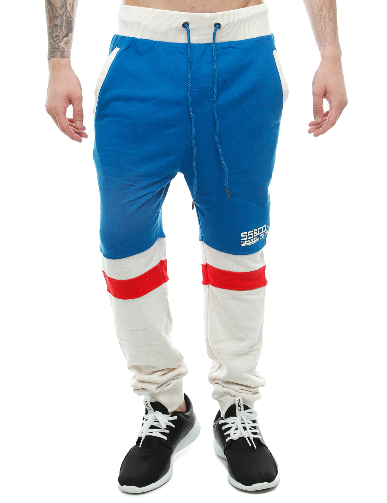 Soul Star MP Primal Sweatpants Blue