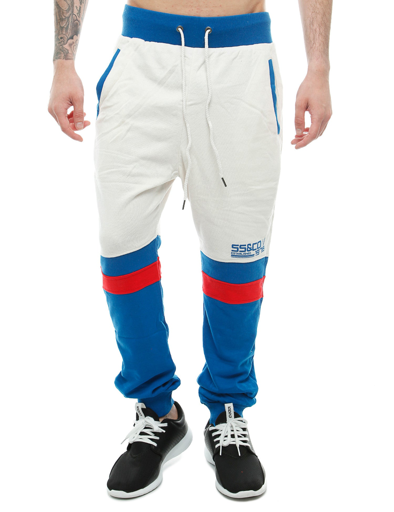 Soul Star MP Primal Sweatpants White
