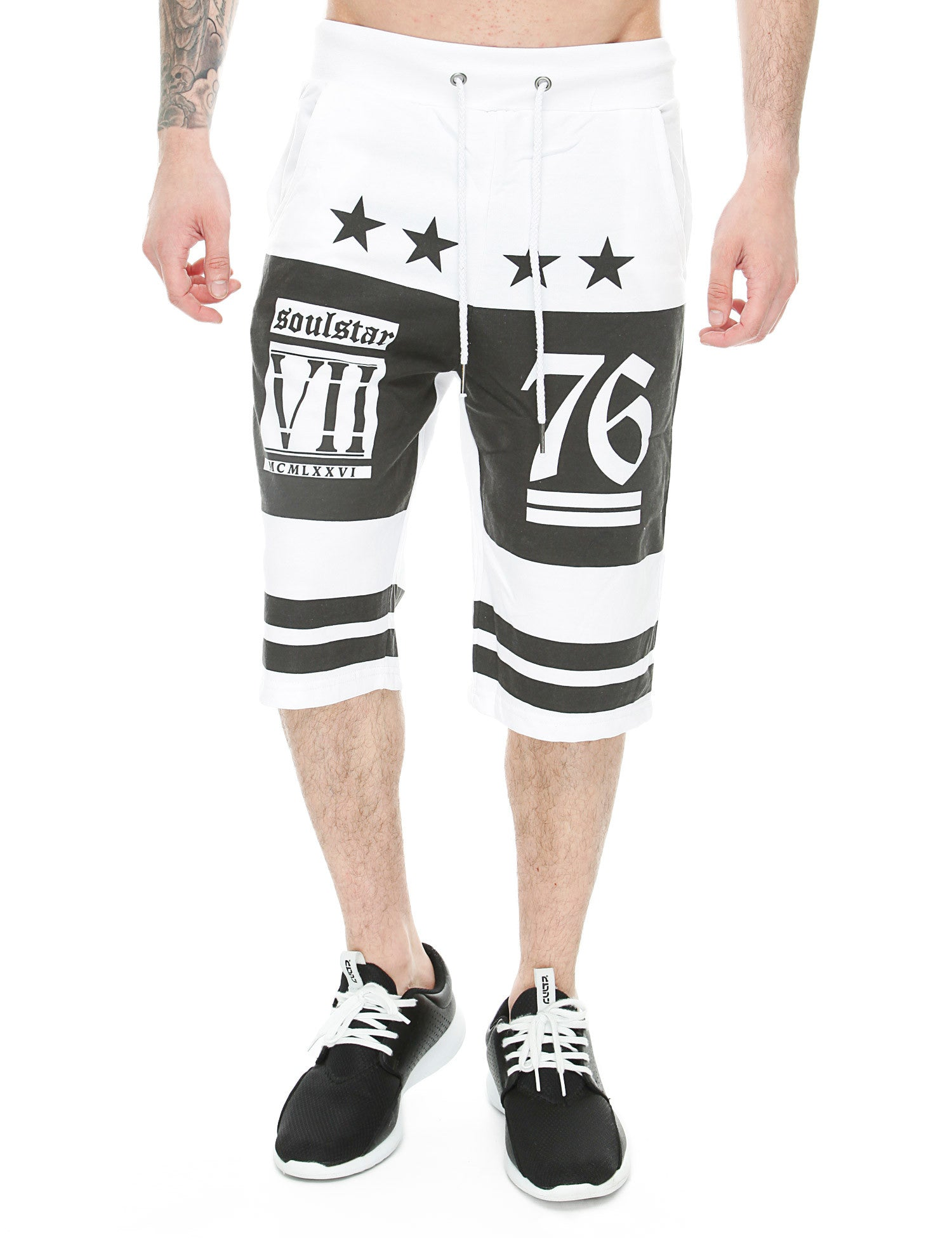 Soul Star MST Ronan Shorts White