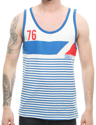 Soul Star MV Pri Tank Top White