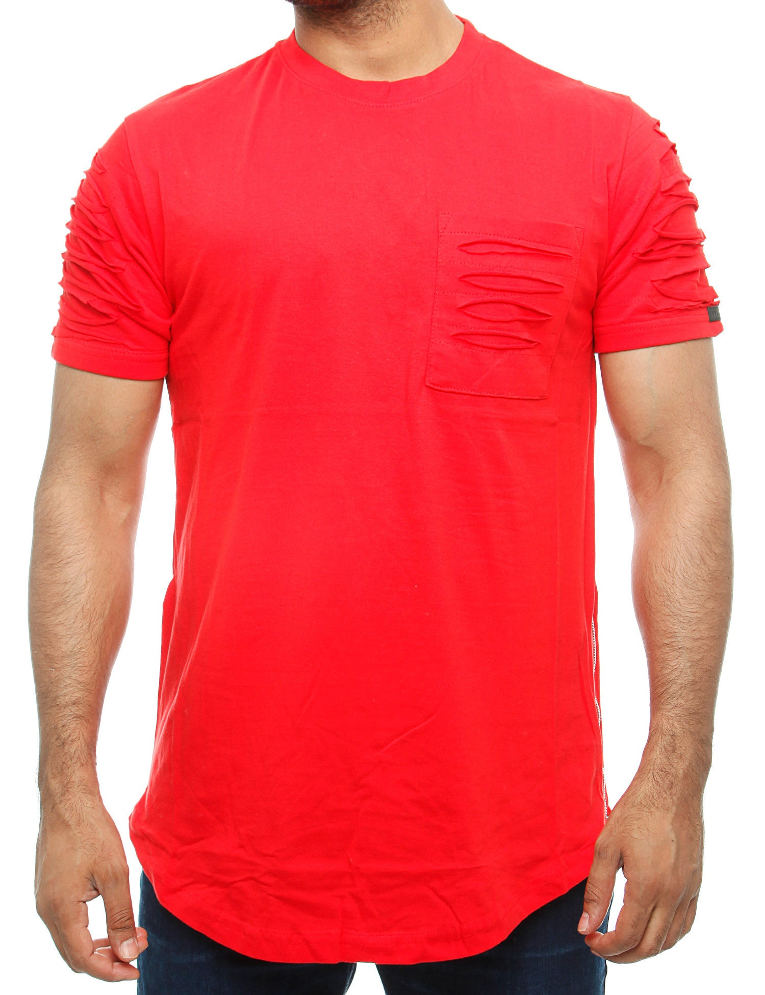Southpole T-Shirt 16191-1011 Red