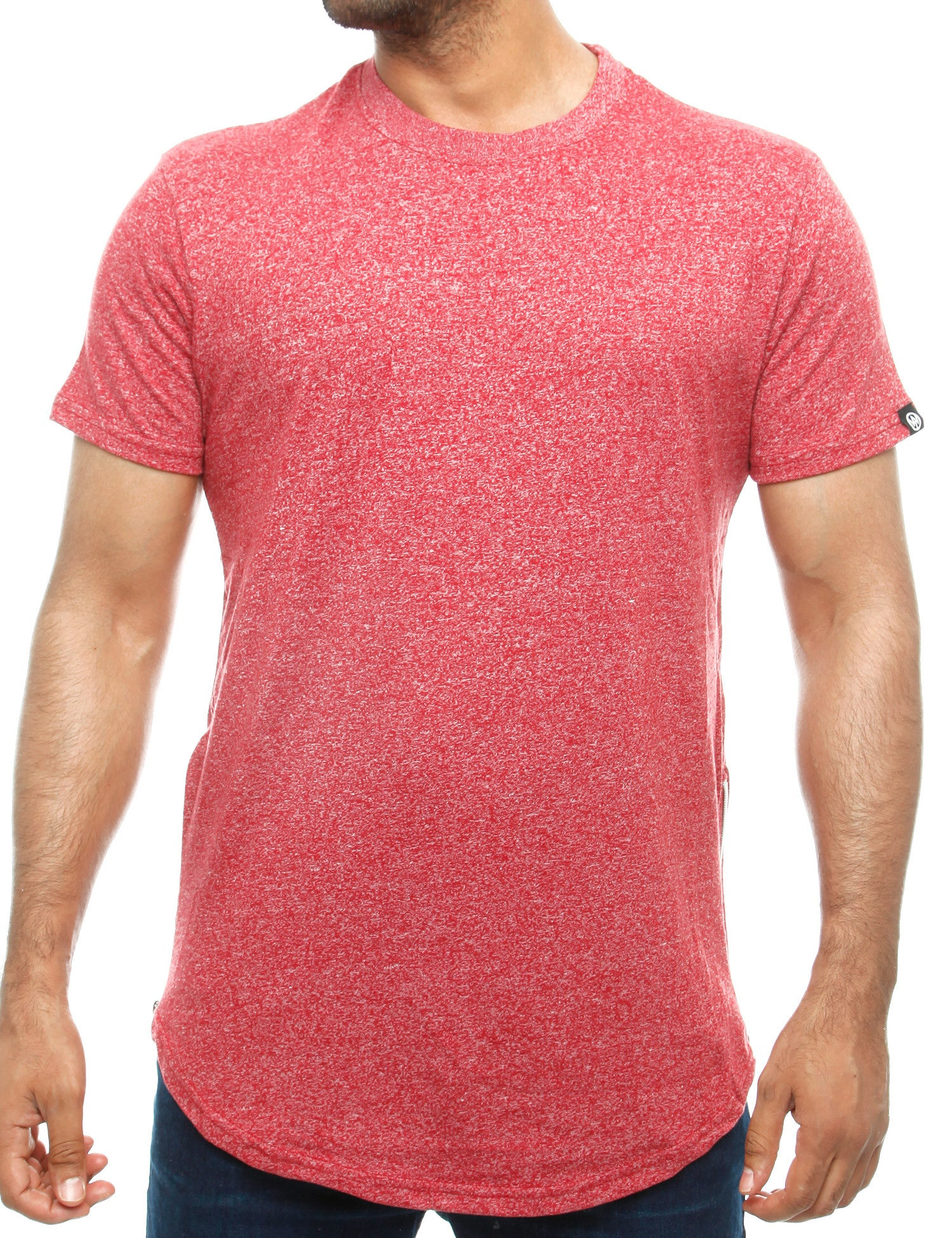 Southpole T-Shirt 16191-1031 Marled Red