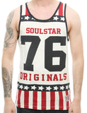 Soul Star MV Originals Tank Top Navy