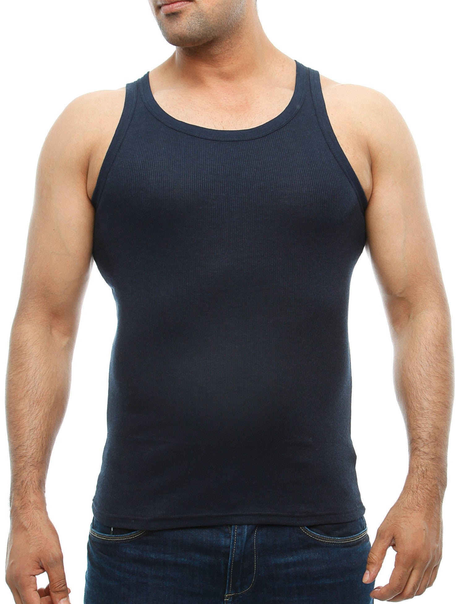 French Fashion Tank Top 32008  Navy