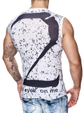 Violento 2 Pac Tank Top White