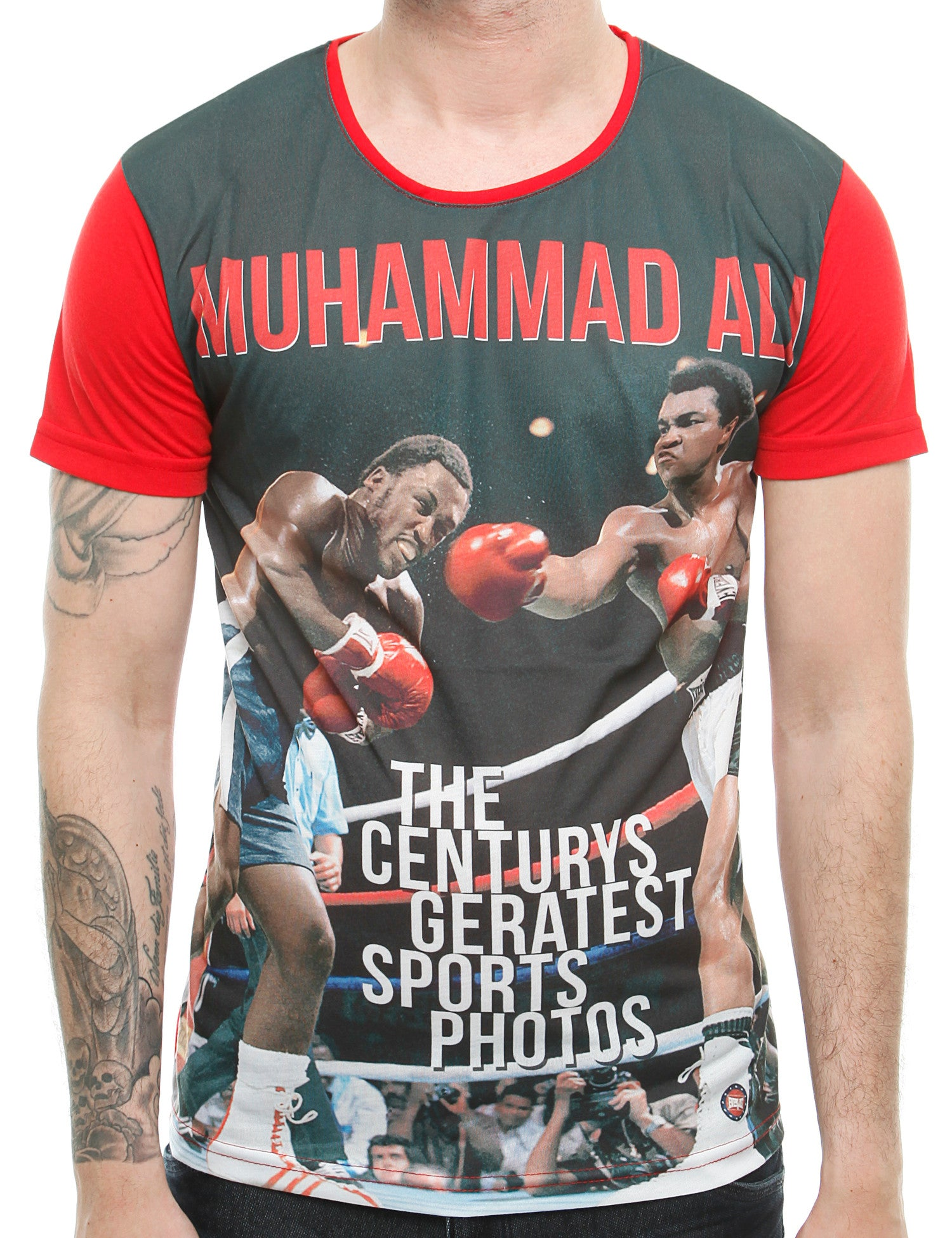 Blackrock Muhammad Ali 6111094 T-shirt Red