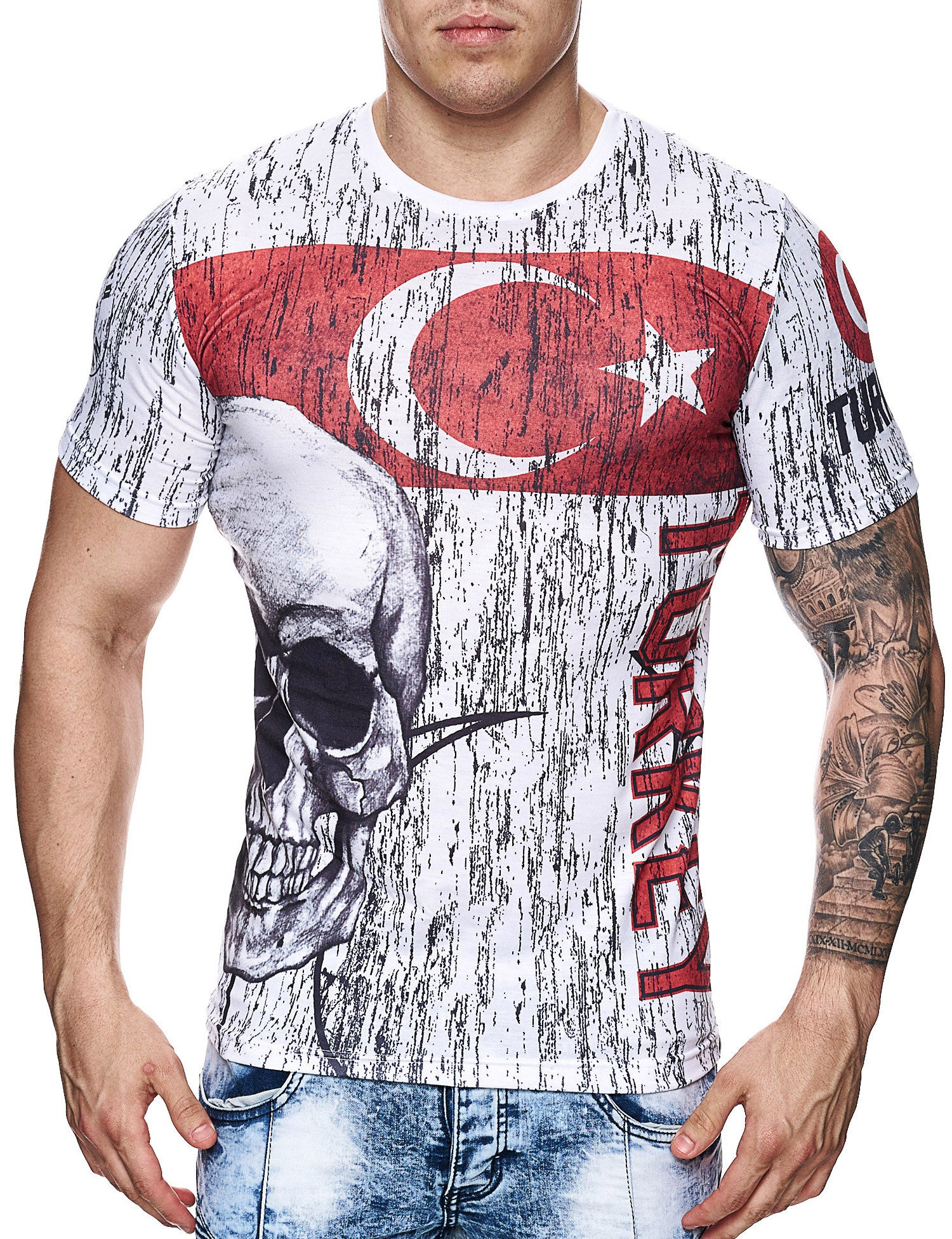 Cabin Turkey T-Shirt White