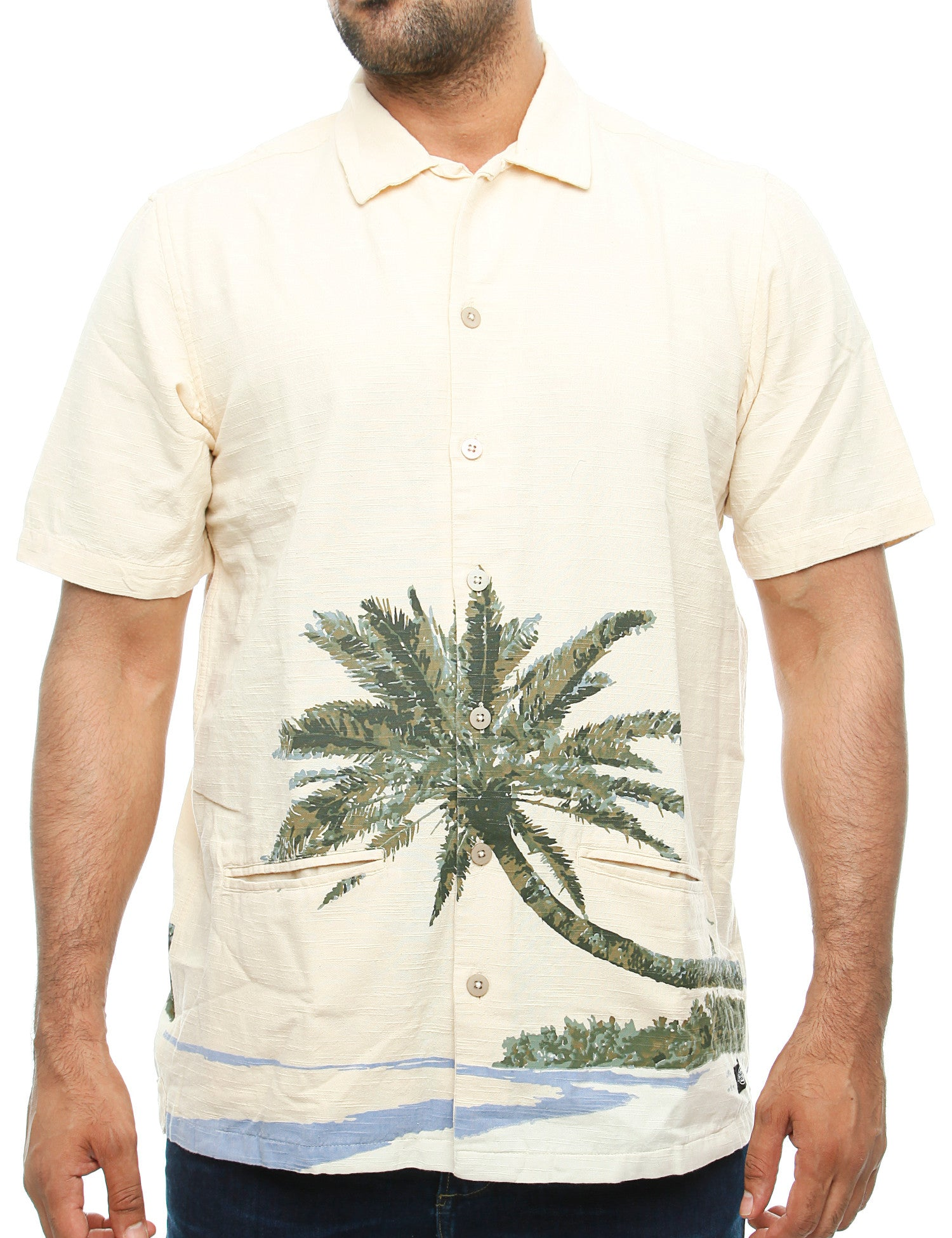 Dickies Hawaiian Gardens Shirt 05 200215 Beige