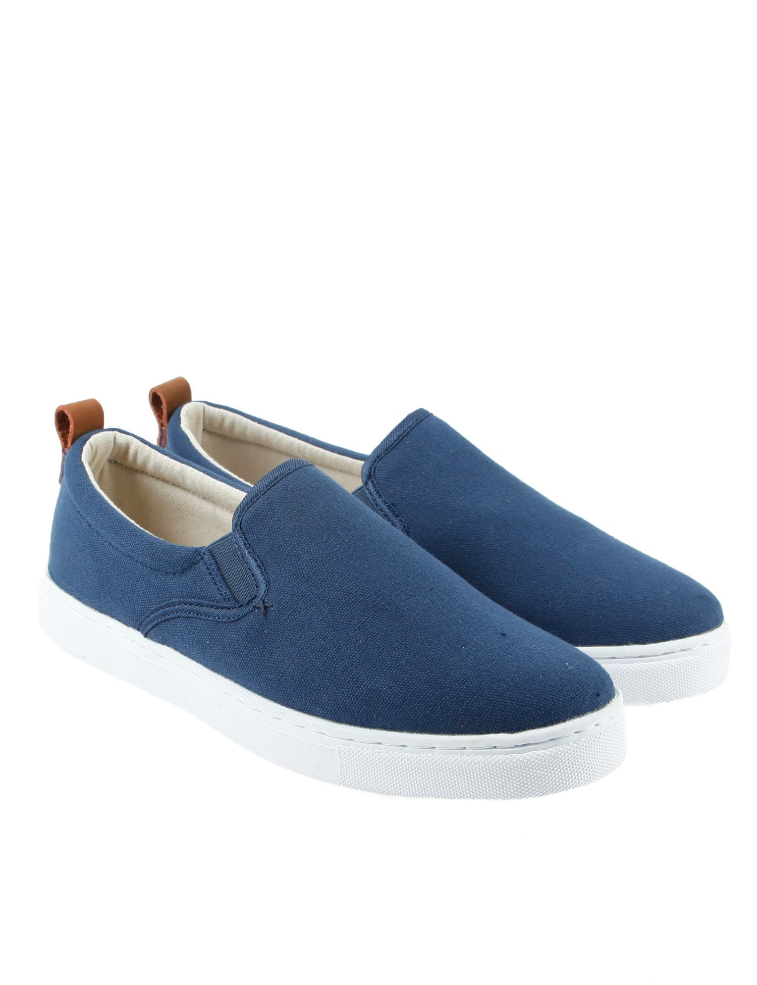 Dickies Kansas Slip On Canvas Shoe Navy