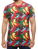 Imperious Camo Long T-Shirt TS603 Red