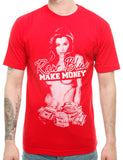 Raw Blue G-Money T-Shirt RB16-005 Red Red