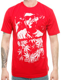 Raw Blue Smoke T-Shirt RB16-006 Red Red