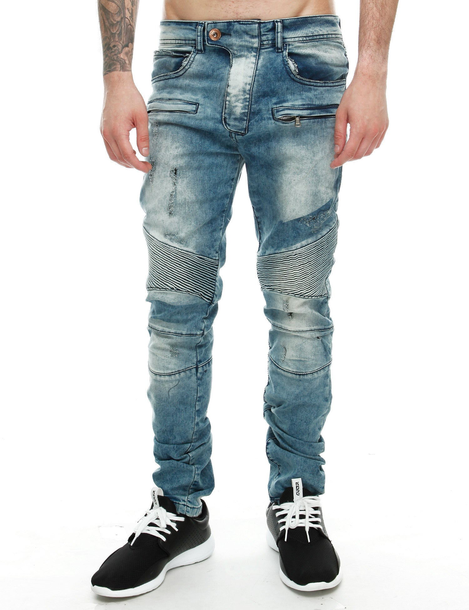 Free Side Facom Jeans Blue