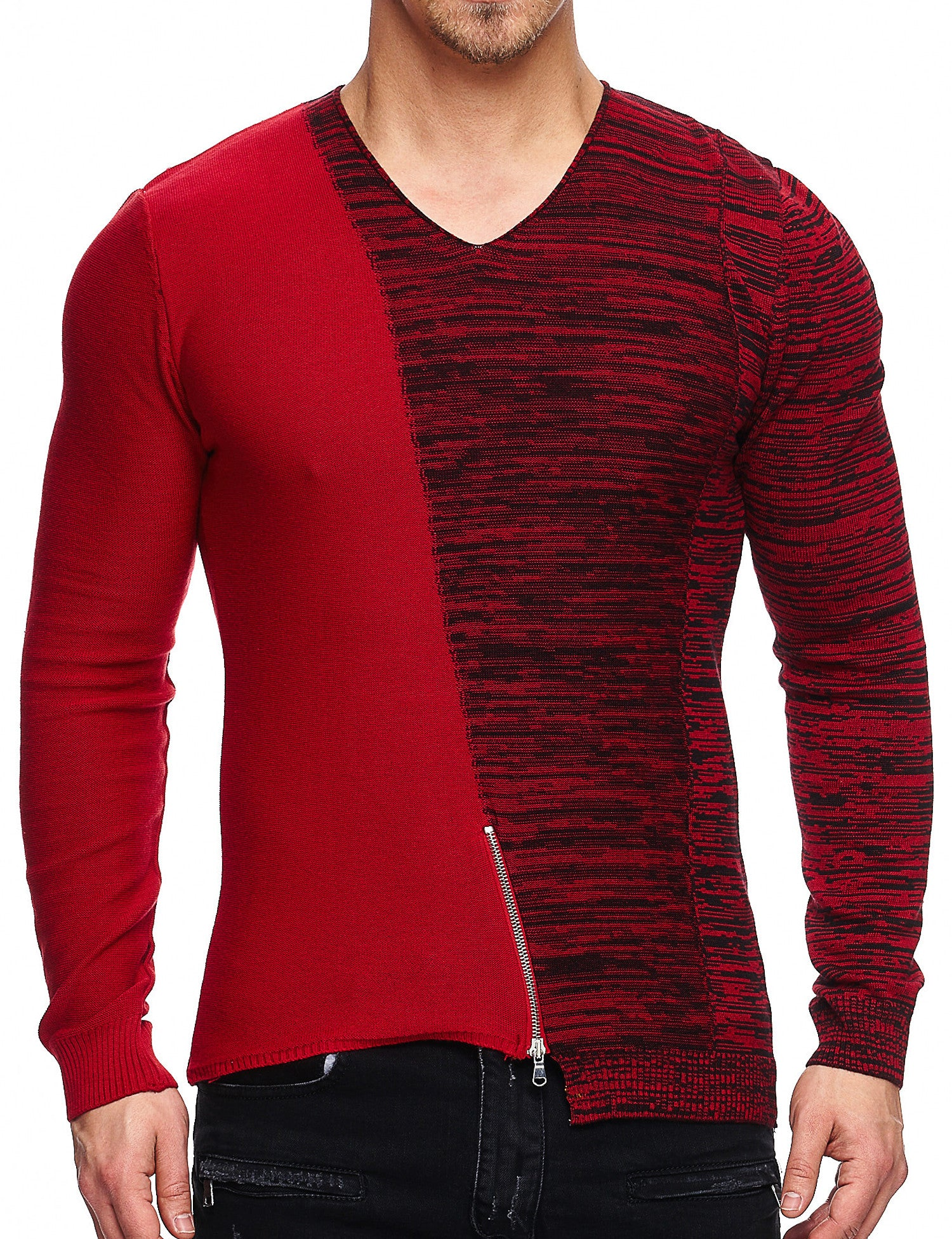 Free Side 15-002 Sweatshirt Red