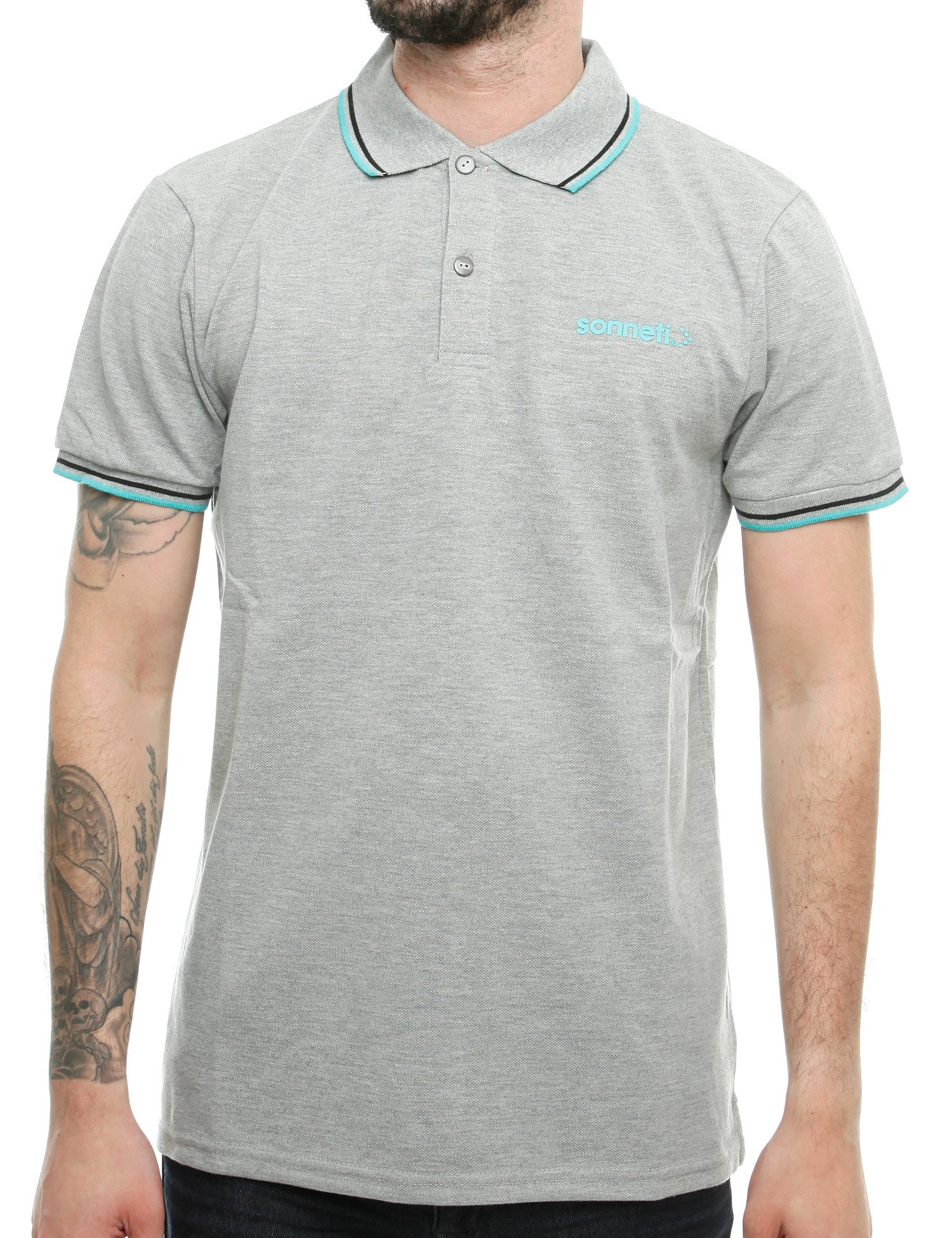 Sonneti CITY ROAD Polo Shirt NSK00169 Grey