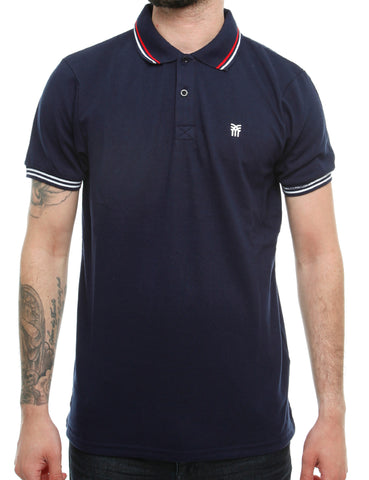 Fenchurch BLACKWALL Polo Shirt NSK00021 Optic Navy