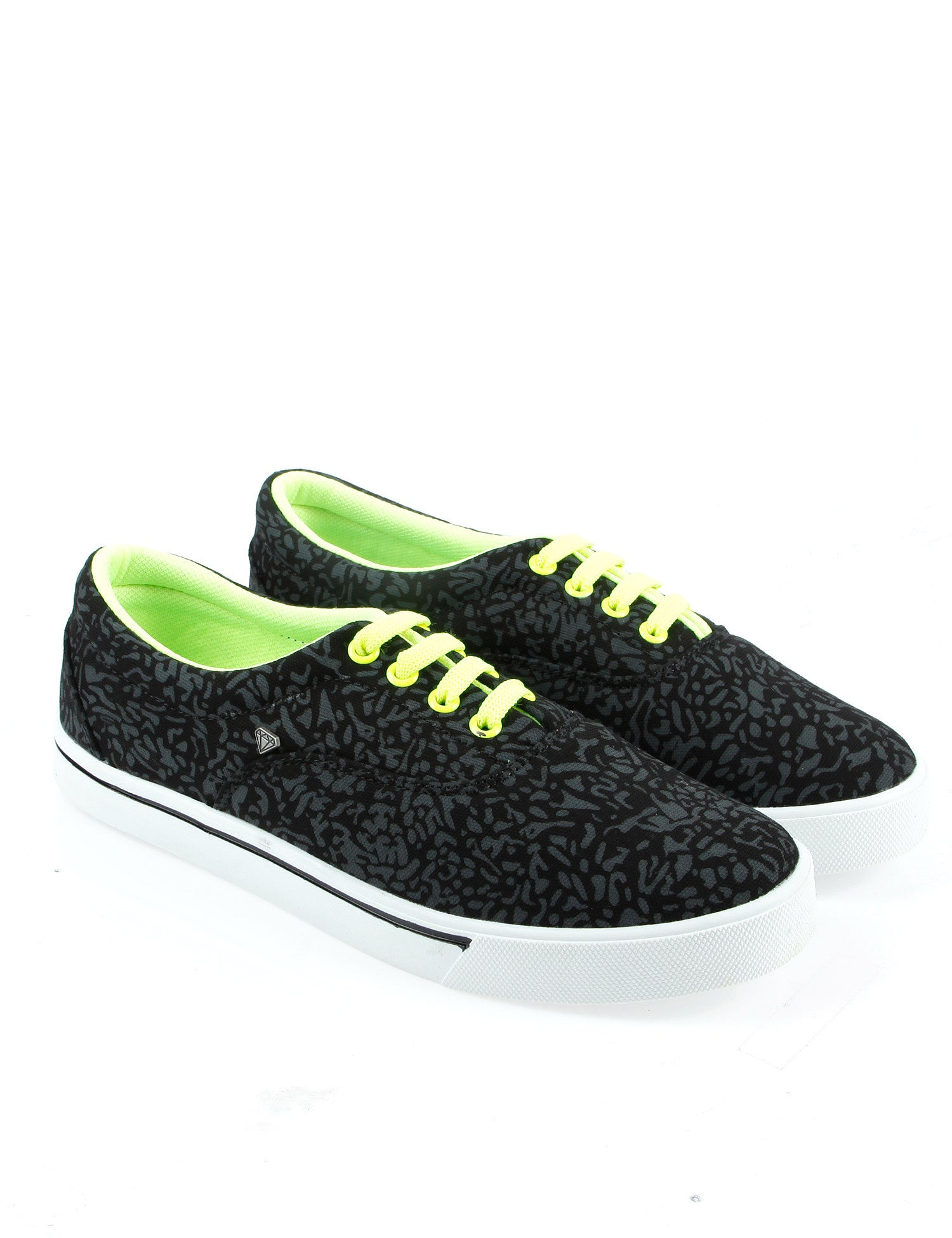 Cash Money CMS15 Sneakers Animal Black Yellow
