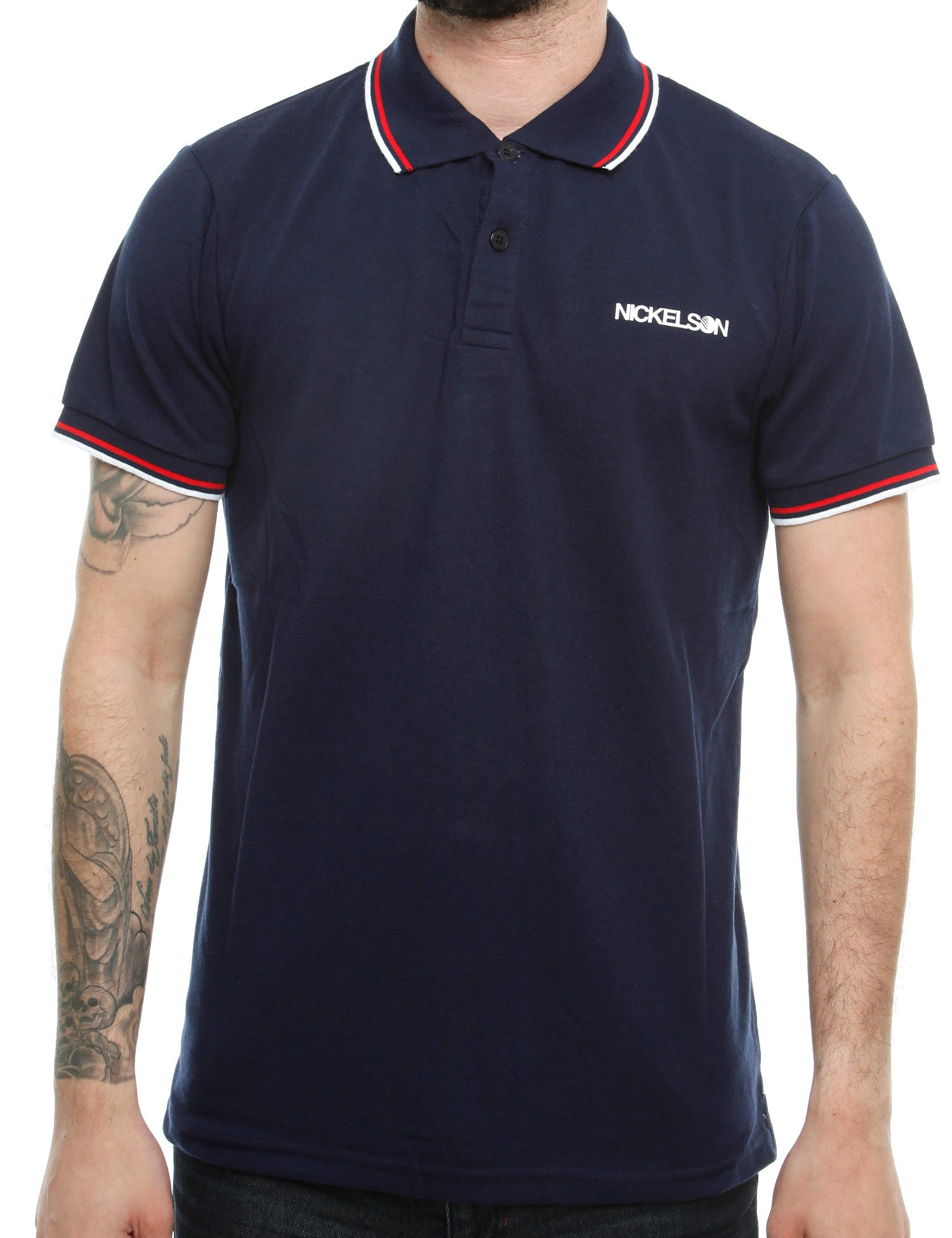 Nickelson Old Street Polo Shirt RSK00030 Peacoat Navy