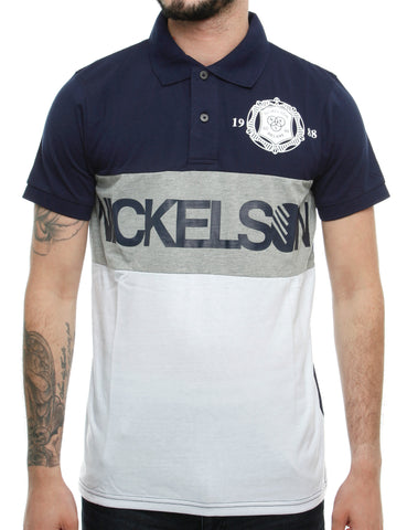 Nickelson Limehouse Polo Shirt RSK00031 Peacoat Navy