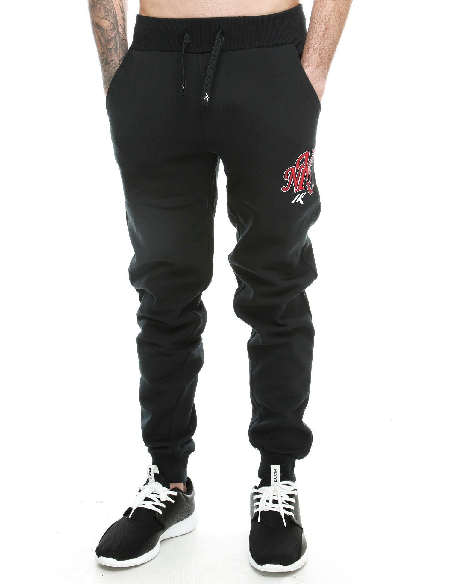 Nickleson Walthamstow Sweatpant RSK00032 Anthracite Black