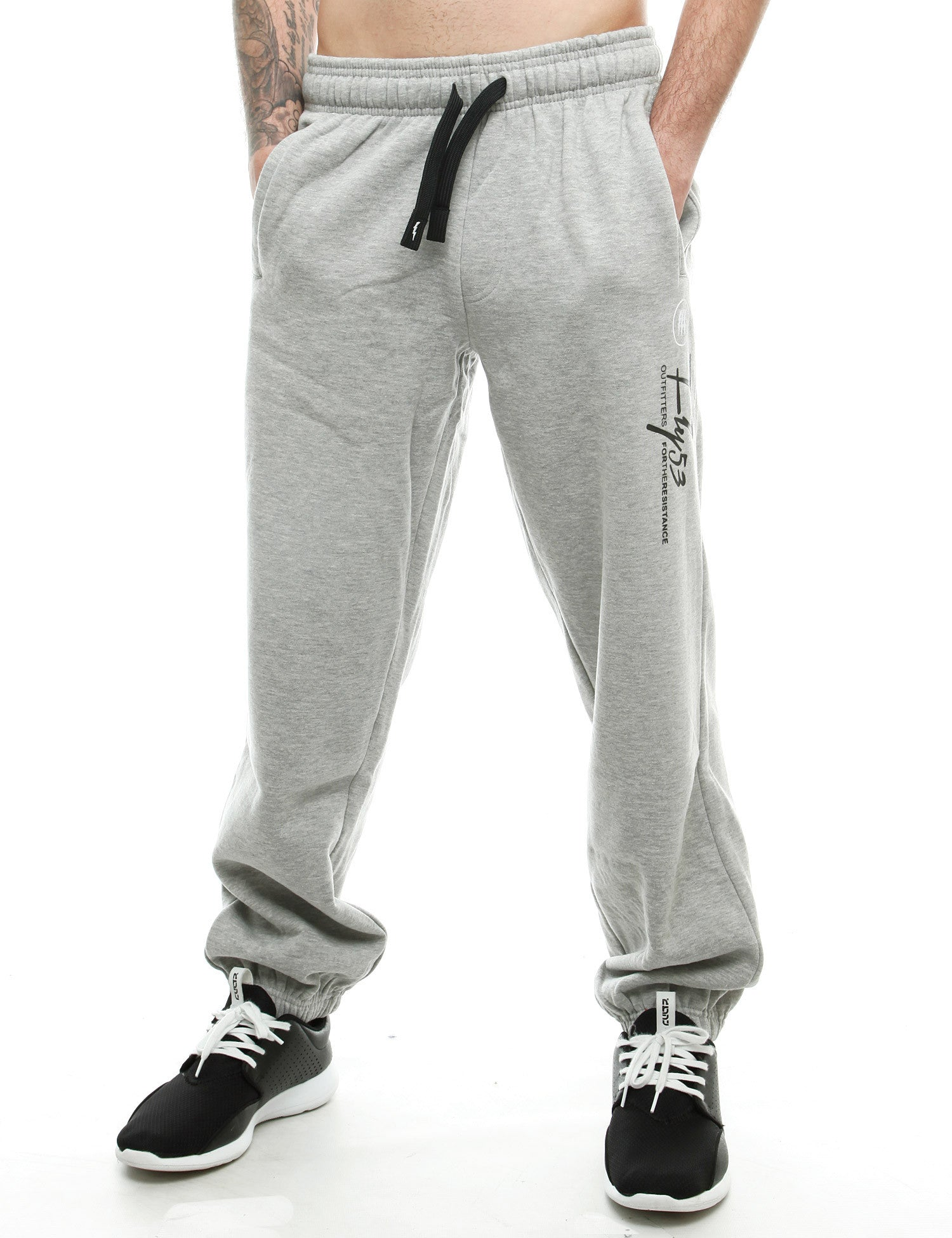 Fly 53 Greenwich Sweatpant FSK00318 Grey