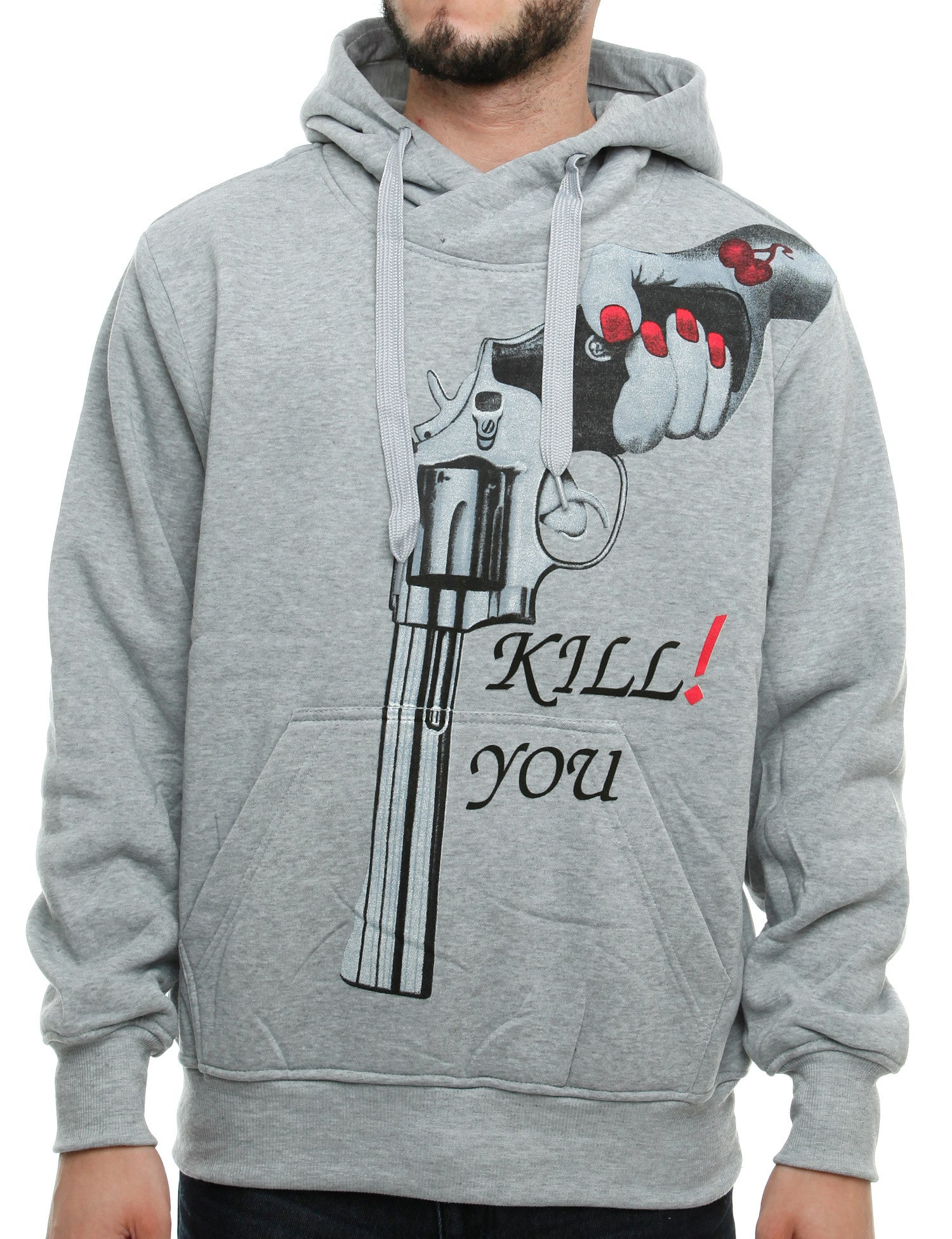Korex Kill You Hoody K1 Grey