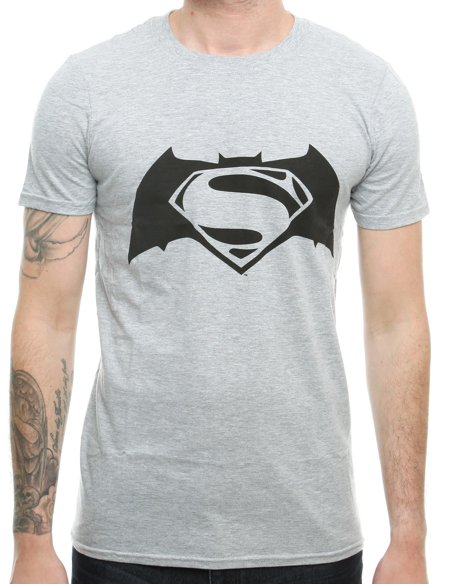 Heroes T-Shirt Superman SU02 Grey