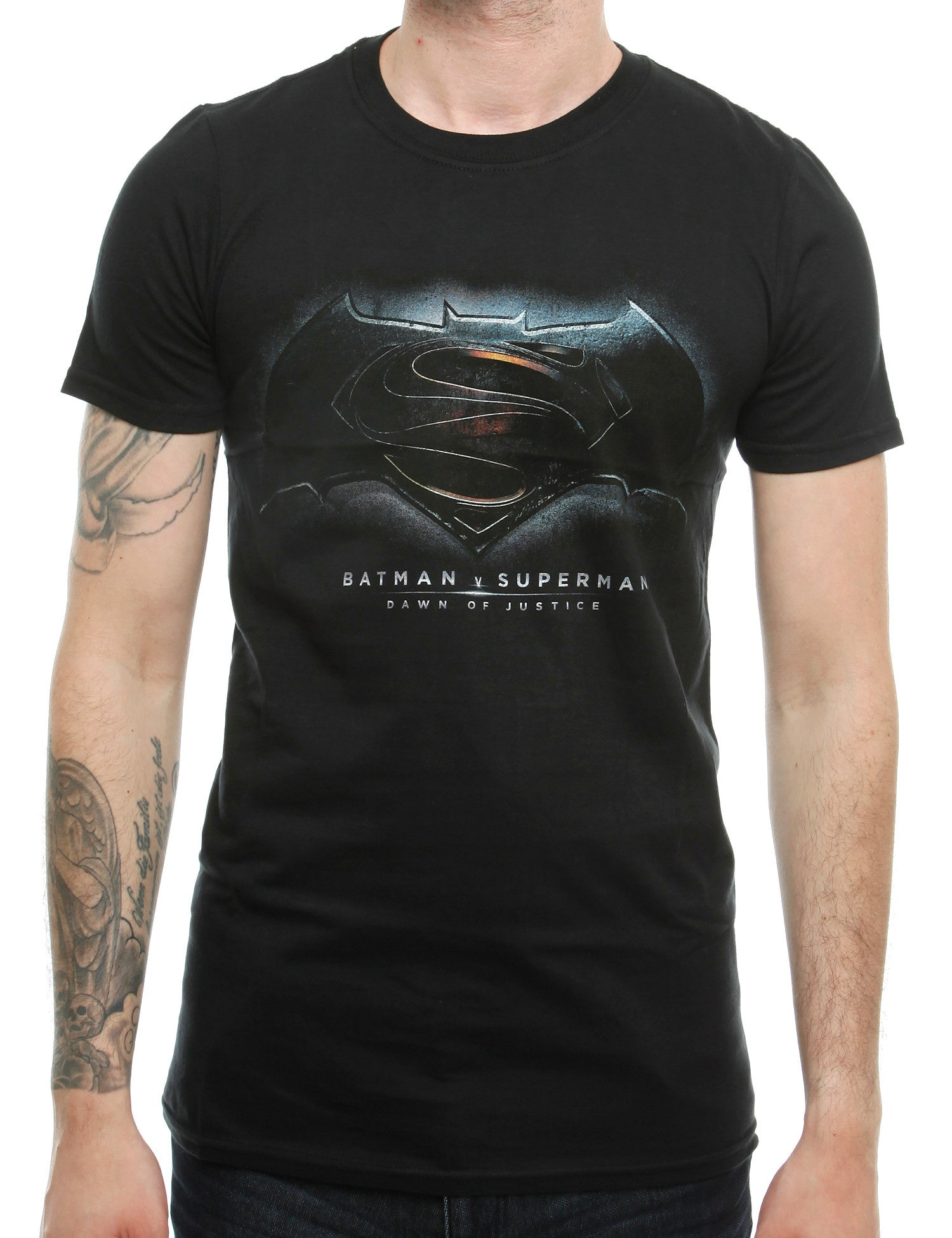 Heroes T-Shirt Batman vs Superman BT05 Black