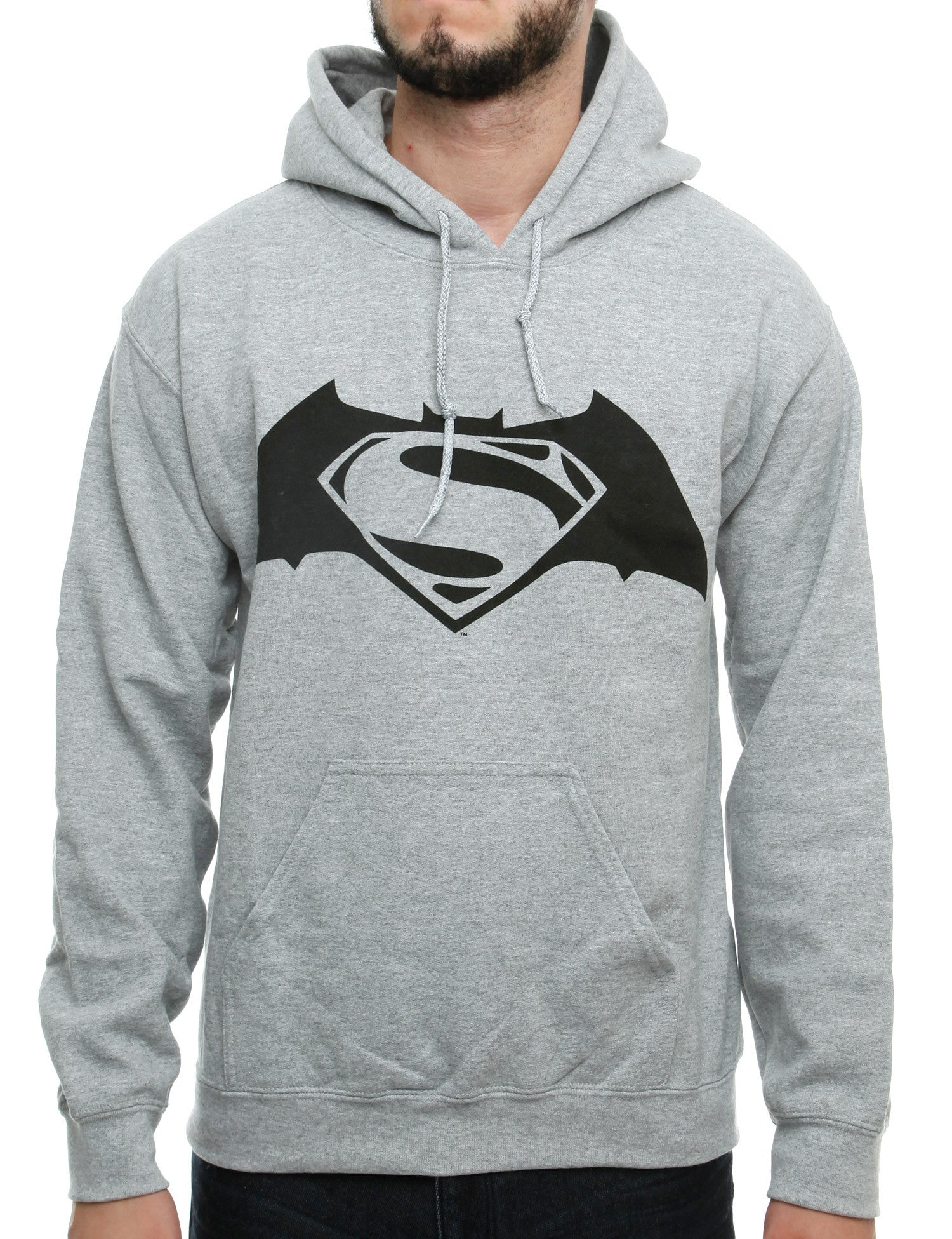 Heroes Hoody Superman SUH01 Grey