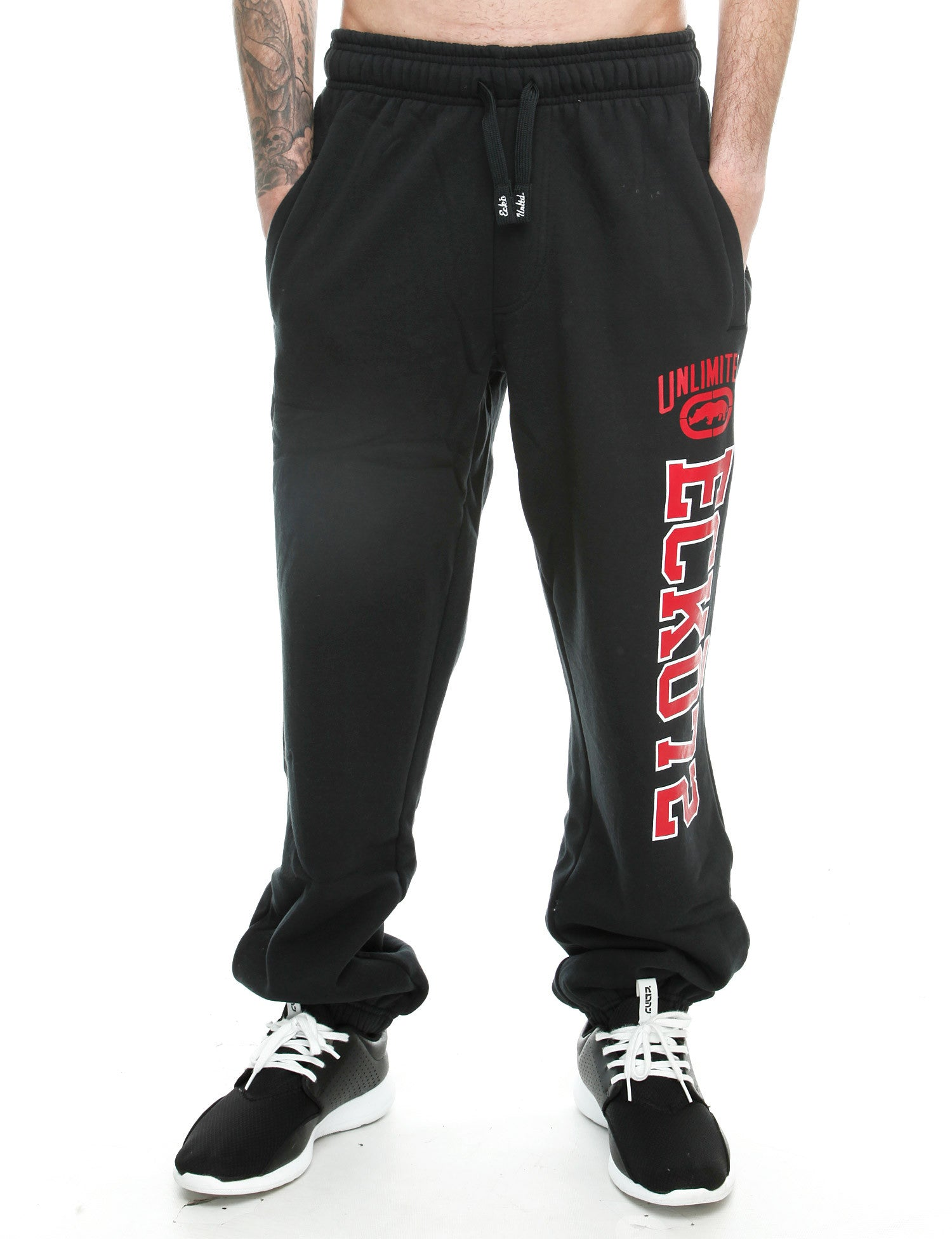 Image of Ecko Vogue Sweatpant ESK03646 Anthracite Black