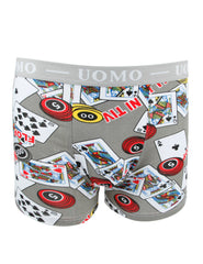 Crazyman Boxers 2034 Heather Grey
