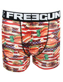Freegun Hotdog Hamburg Boxers Brown