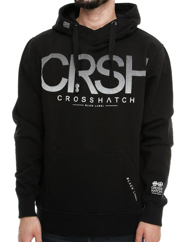 Crosshatch CRUSHER Hoody CH110283 Black