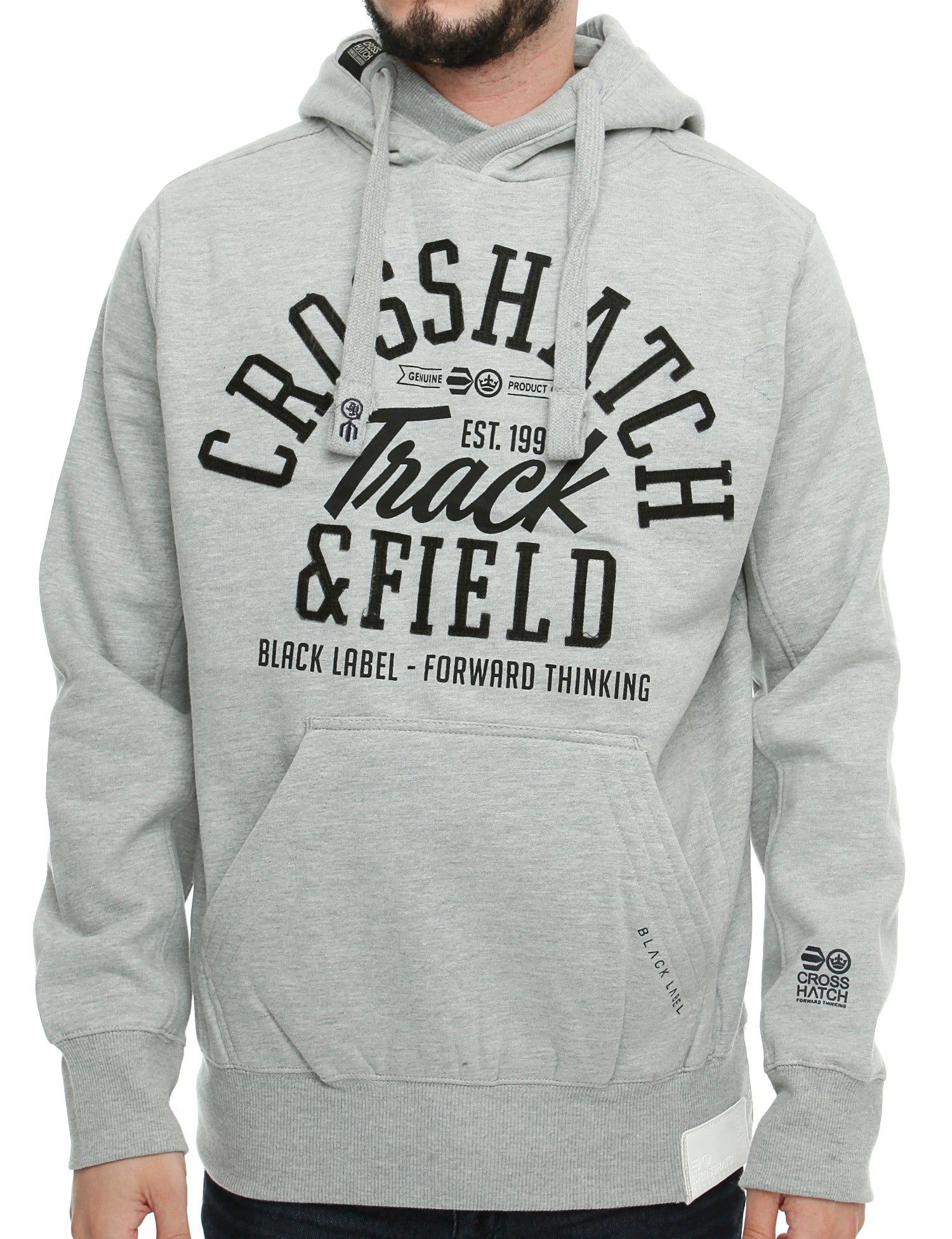 Crosshatch COTTONHAM Hoody CH2E11010399 Grey
