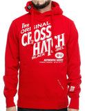 Crosshatch Stippel Hoody CH2E11010099 Red