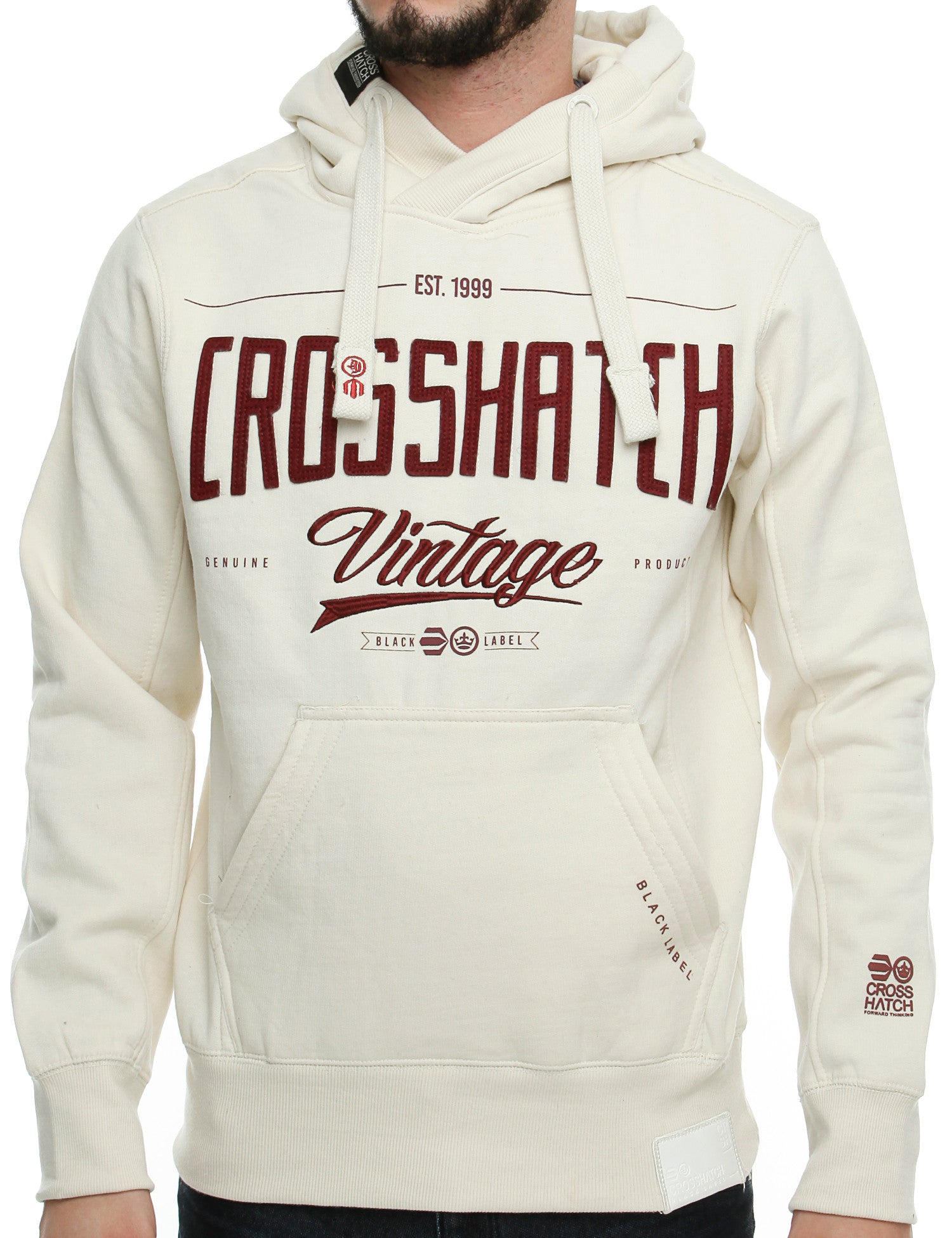 Crosshatch LATTIES Hoody CH2E110102 Grey